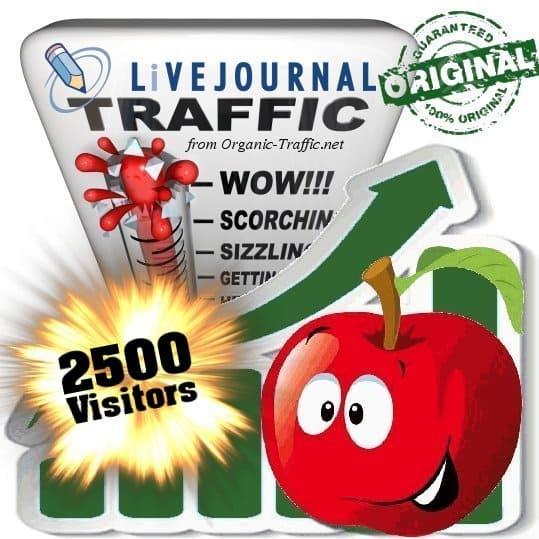 buy 2500 livejournal social traffic visitors