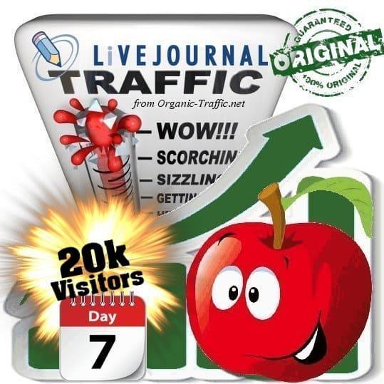 buy 20.000 livejournal social traffic visitors 7 days