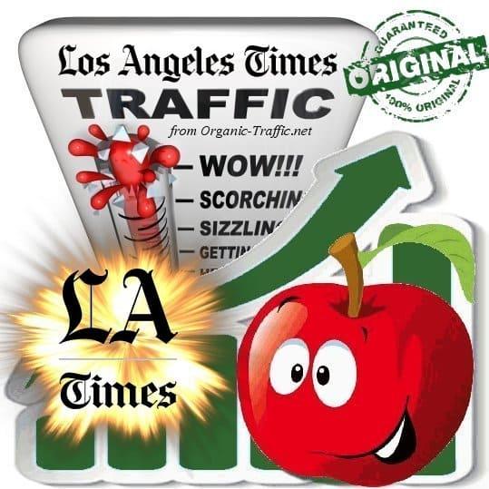 Buy LAtimes.com Web Traffic Service
