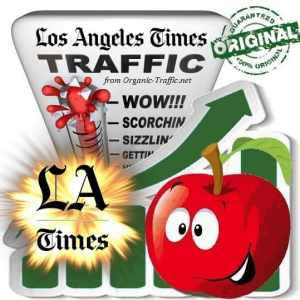 Buy LAtimes.com Web Traffic Service