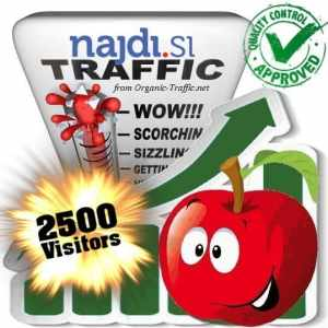 buy 2500 najdi.si search traffic visitors