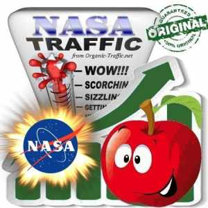 Buy NASA.gov Web Traffic