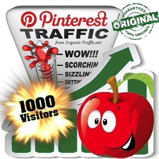 buy 1000 pinterest social traffic visitors