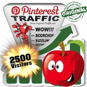 buy 2500 pinterest social traffic visitors