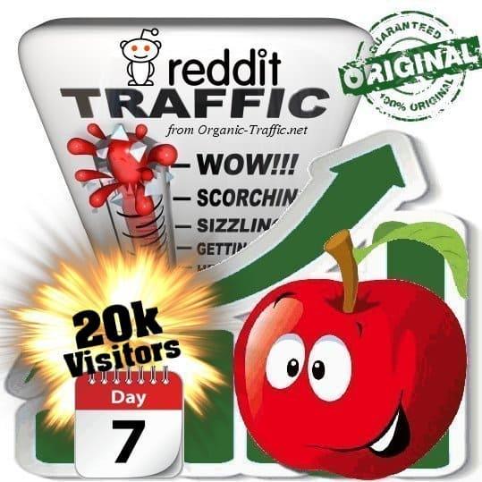 buy 20k reddit social traffic visitors 7 days