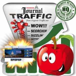 Buy Washington Journal Web Traffic