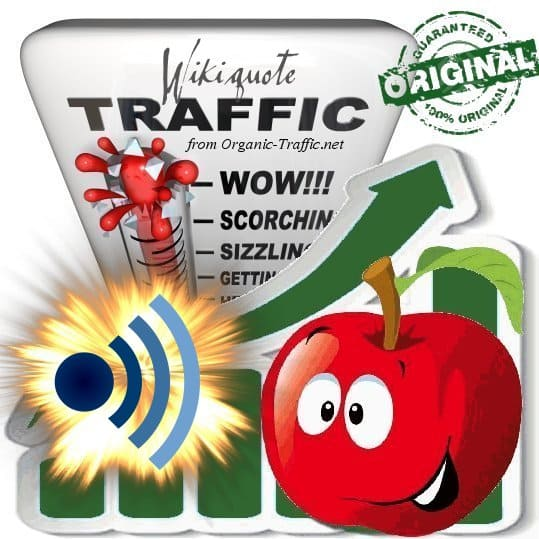 Buy Wikiquote.org Web Traffic