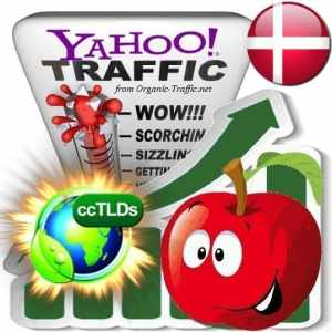 buy yahoo denmark organic traffic visitors