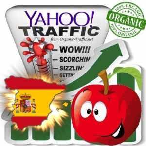 Yahoo España Web Traffic Service