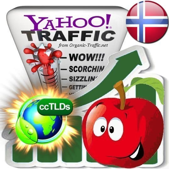 buy yahoo norway organic traffic visitors