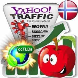 buy yahoo norway organic traffic visitors