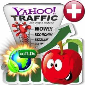 buy yahoo switzerland organic traffic visitors