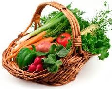 organic produce and gardening
