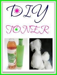 natural DIY face toners