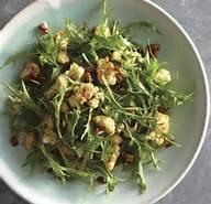 Mizuna Salad with Cumin-Roasted Cauliflower