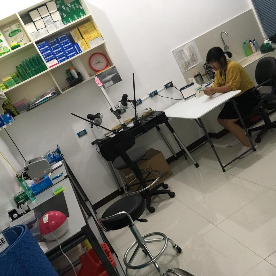 In the Genetic Research and Information dry lab