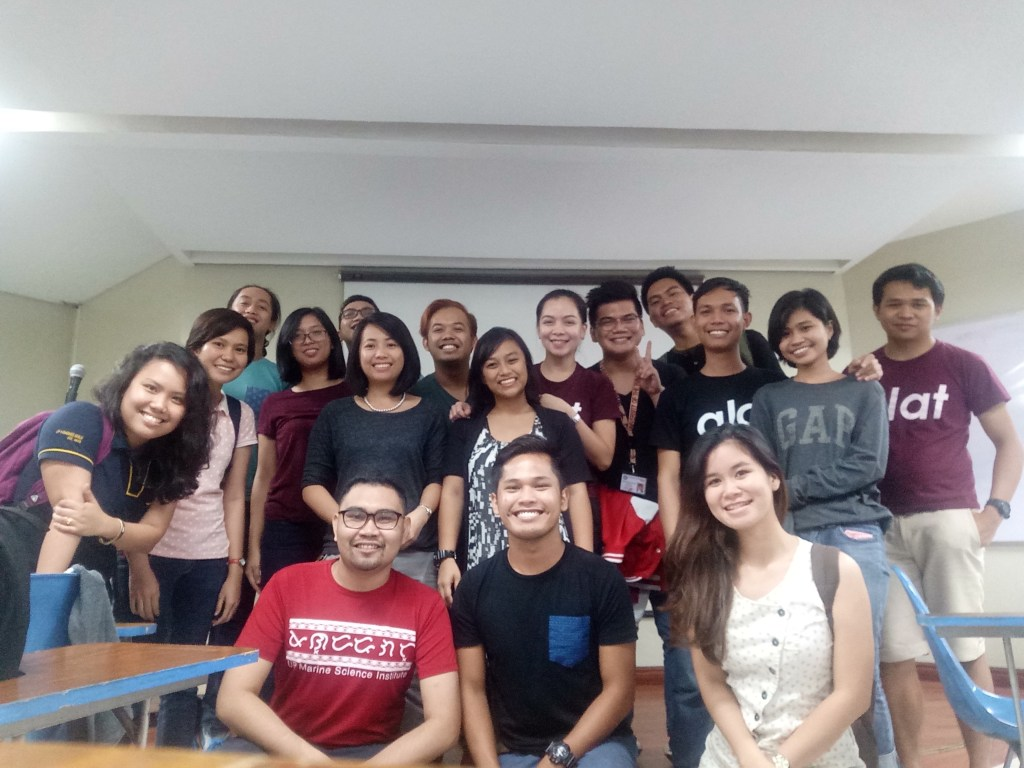 First General Assembly of UP Marine Science Society