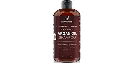 Art Naturals Organic Argan Shampoo - Revitalising Natural Shampoo For All Hair Types