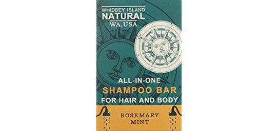 Whidbey Island Natural Organic Shampoo Bar - All-in-One Organic Body Wash & Shampoo Bar