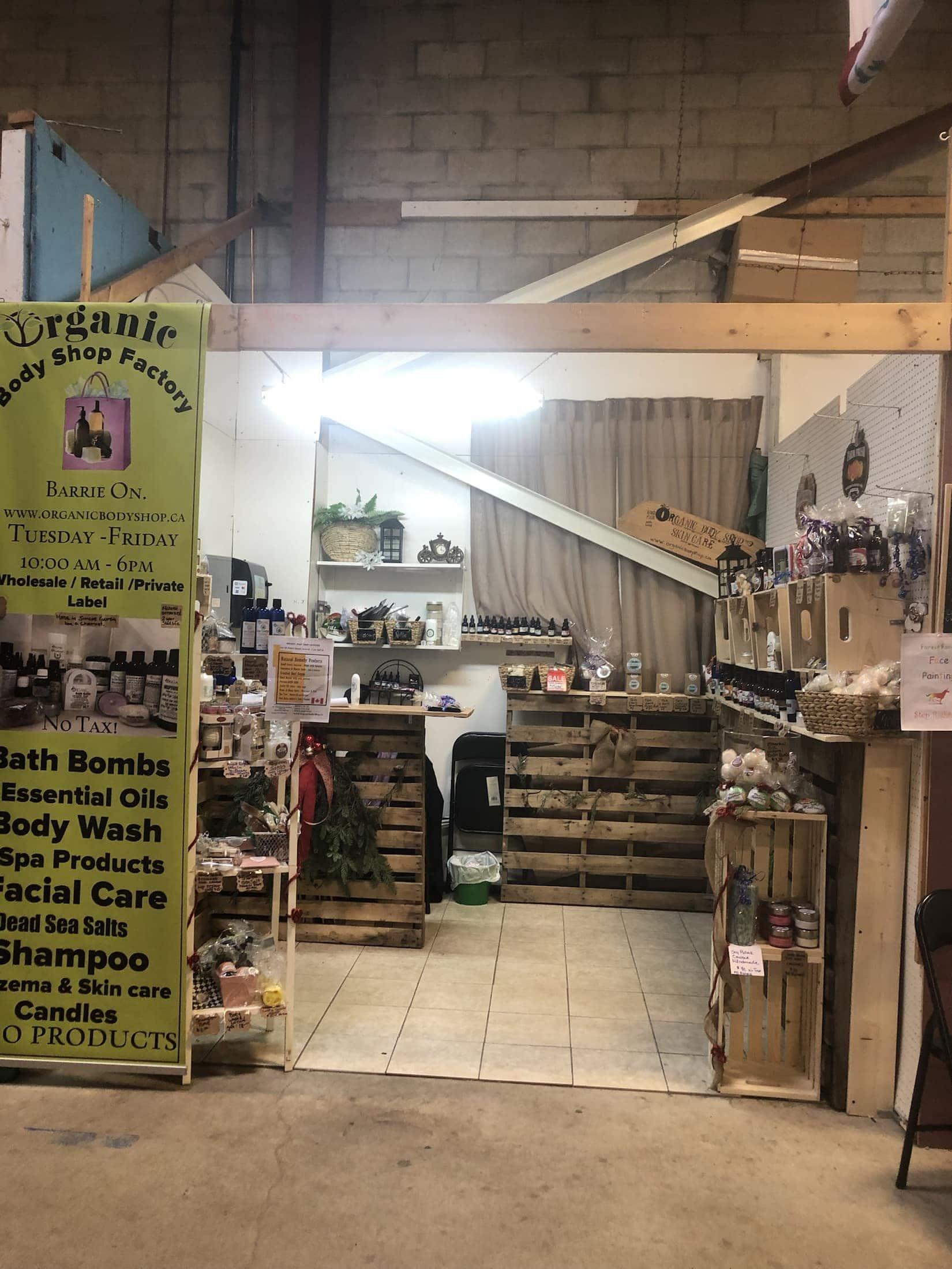 Natural skin care-400 market in Innisfil