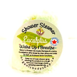 Eucalyptus Shower Melts. Shower aromatherapy.. No tax.