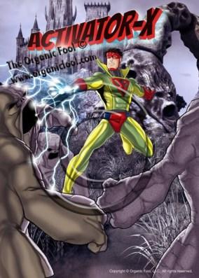 Activator-X Super Hero (C)