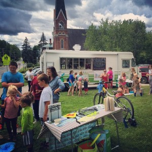 Farm-To-School Program Lunchbox Food Truck