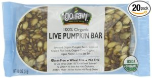 pumpkin bar for protein