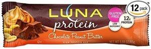 luna organic protein bar