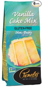 Pamela's gluten free cake mix