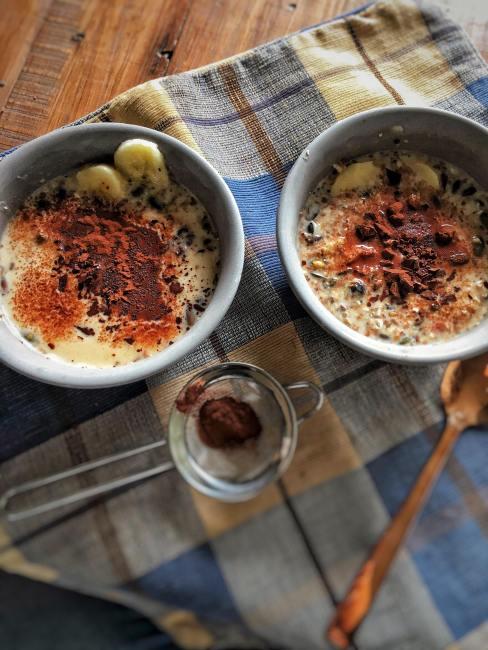 herfstontbijt, herfst ontbijt, warm ontbijt, warm ontbijten, warme herfst ontbijtjes, simpel gezond warm ontbijt, warm gezond ontbijt zonder melk, gezonde warme ontbijt recepten