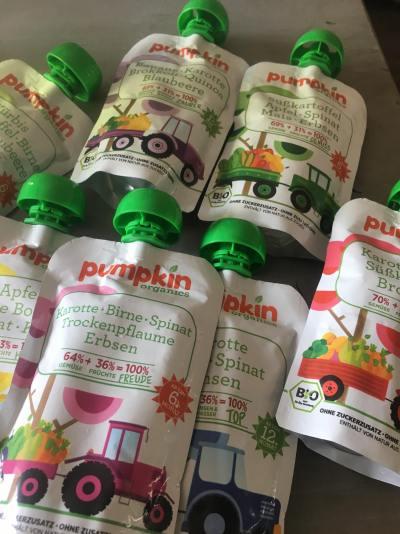 Pumpkin organics biologische knijpgroente, Pumpkin organics, Biologische knijpgroente, Pumpkin organics gmbh, Pumpkin organics test, Pumpkin organics testpakket, Knijpgroente, organic happiness, biologisch, biologische foodblog