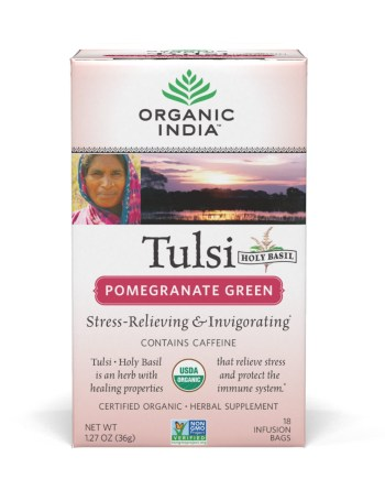 Tulsi Pomegranate Green Tea