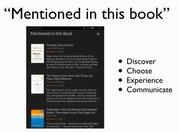 읽고 있는 책의 참고자료들과 연결되는 경험이다. 컨텍스트의 4가지 요소가 동시다발적으로 발현된다.
