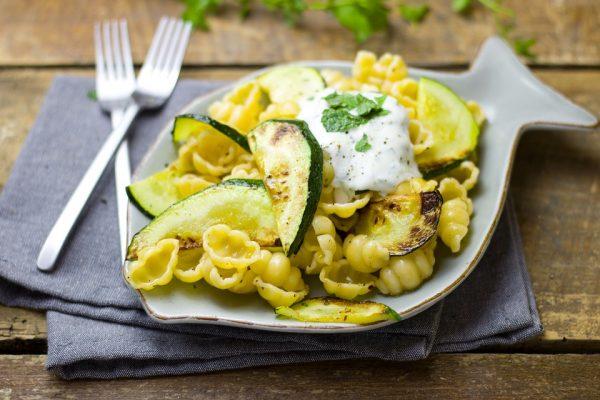 Receta de pasta con zucchini