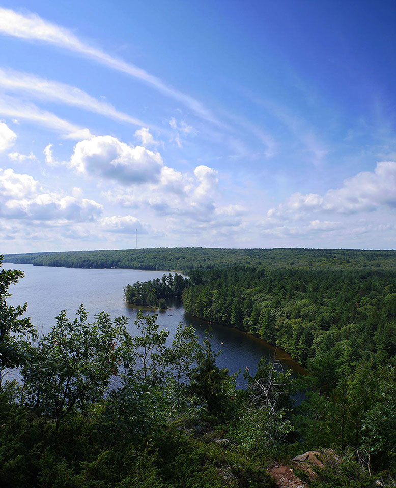 Bon Echo Provincial Park - Cliff Top Trail