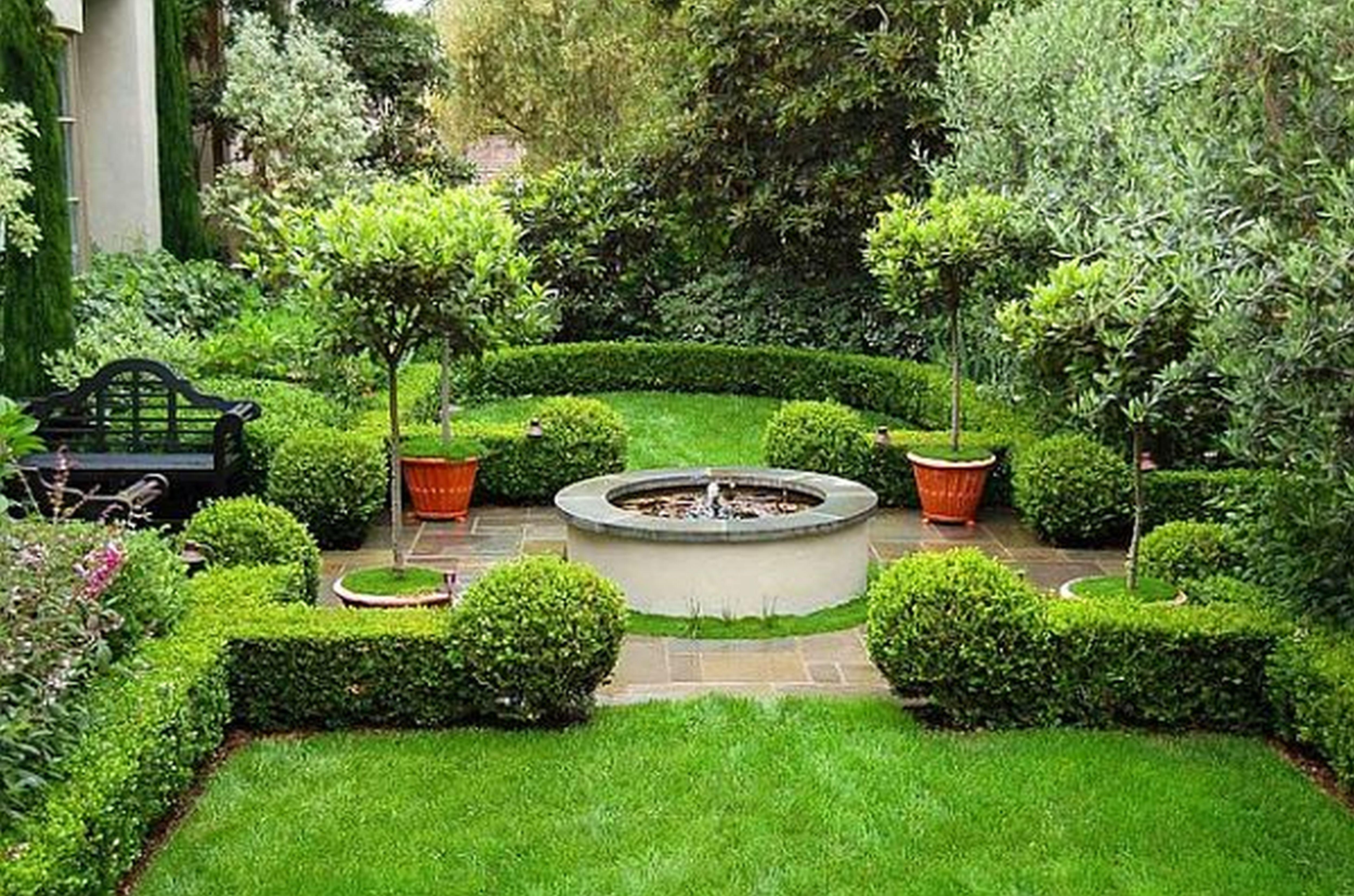 Planning Landscaping | Organic Garden Landscaping on Best Backyard Landscaping id=12679