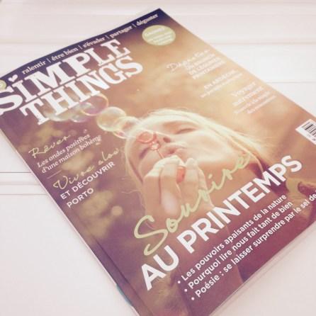 Lire un magazine qui fait du bien