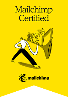 Mailchimp certified partners.