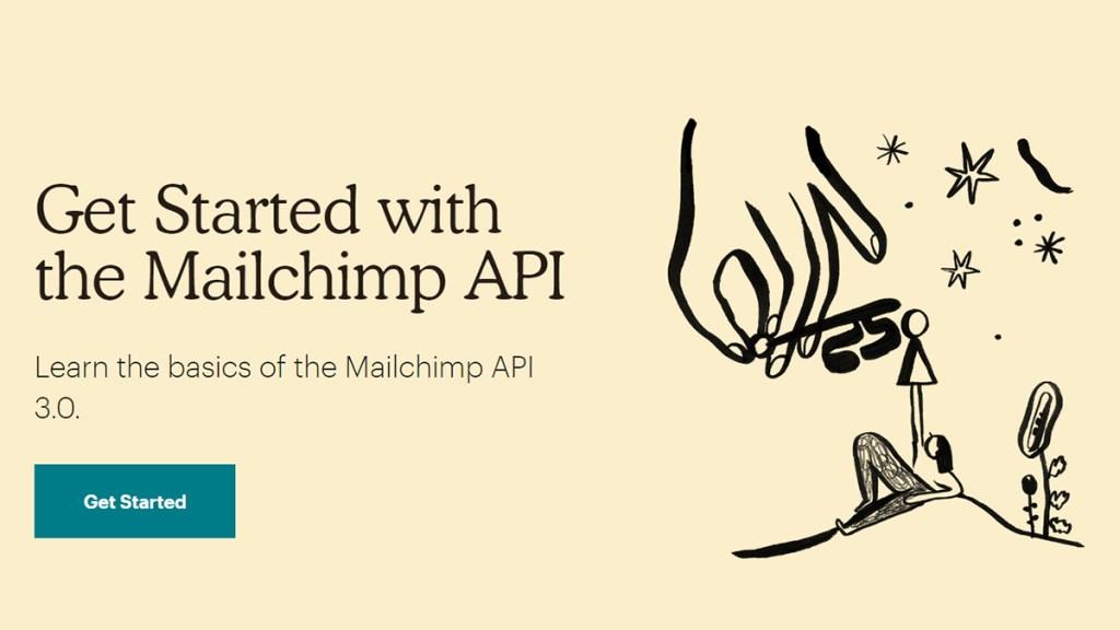 Mailchimp API website