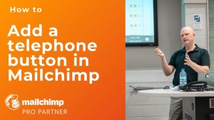 How to add a telephone hyperlink in Mailchimp