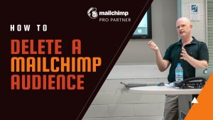 How to delete a Mailchimp Audience