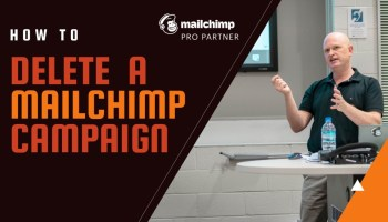 How to delete a Mailchimp email marketing campaign