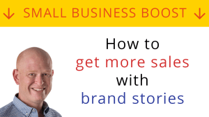 How to get more sales with brand stories