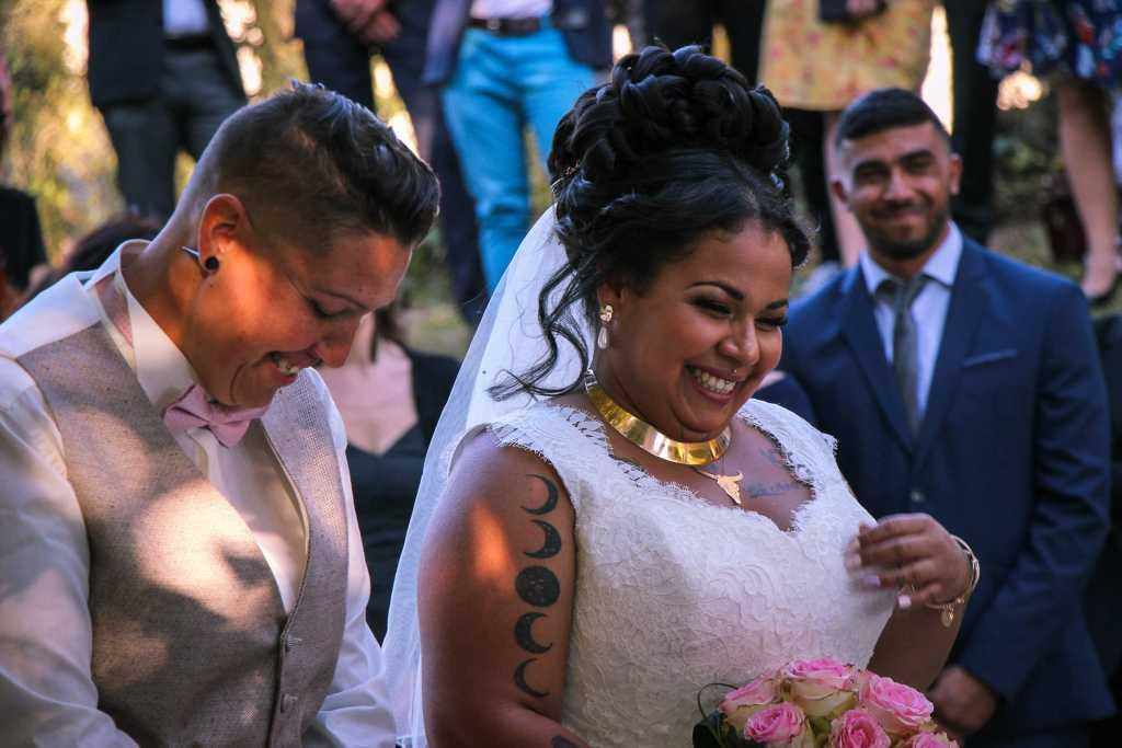 mariage lesbien gay