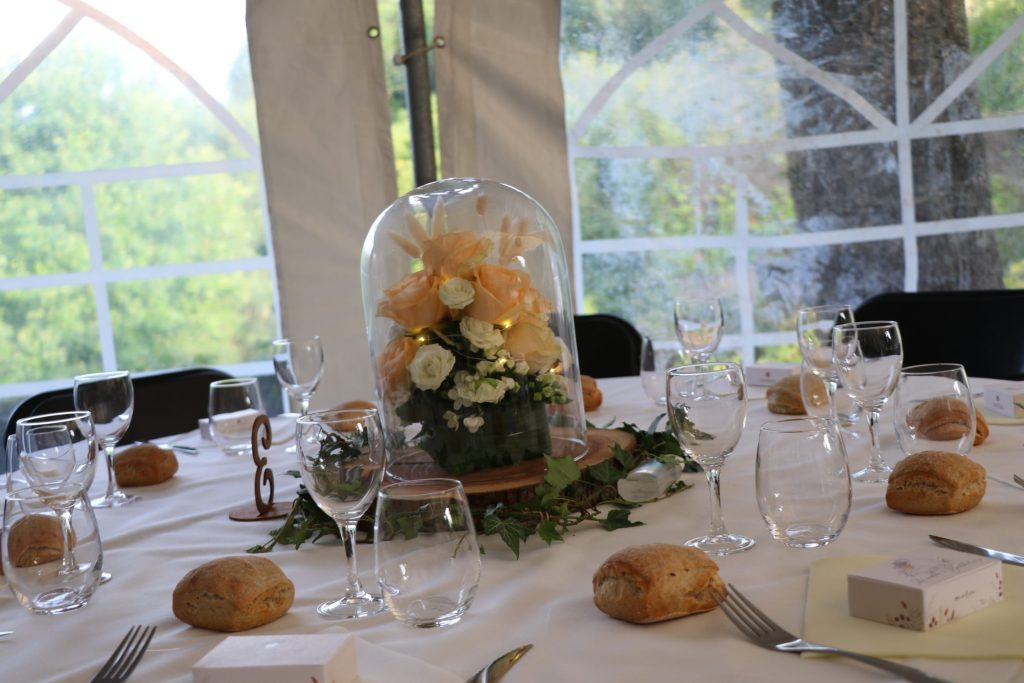 table réception mariage