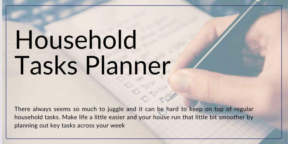 Household Tasks Planner