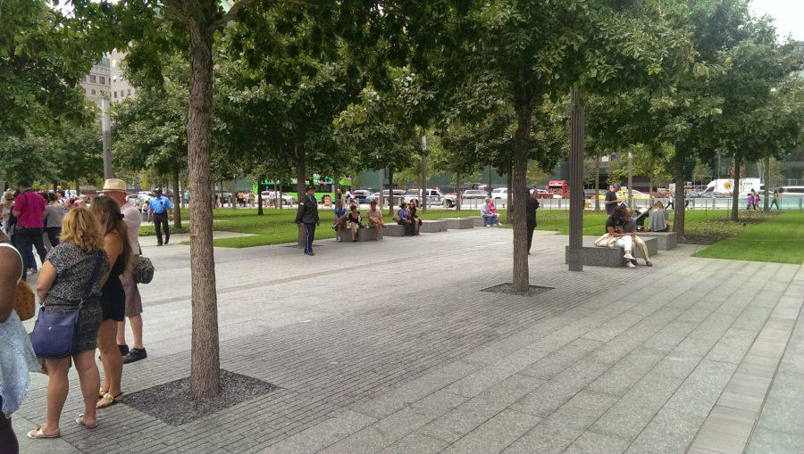 Minnesparken för 9/11 i New York City