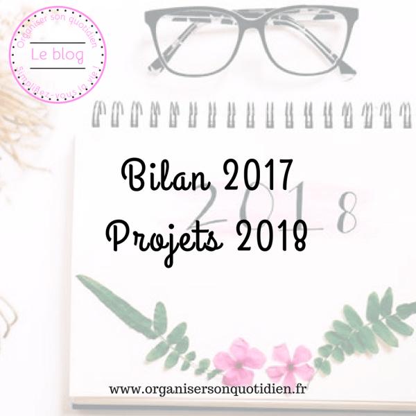 Bilan 2017 et projets pour 2018