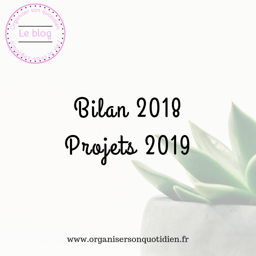 Bilan 2018 et projets en 2019